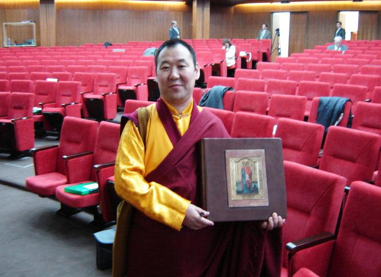 14 сентября 2007 года. С пожеланиями добра и мира, постоянный представитель Санисел Лама - Москва