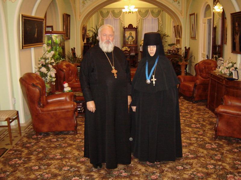 13.02.2006 отец Михаил и матушка Серафима