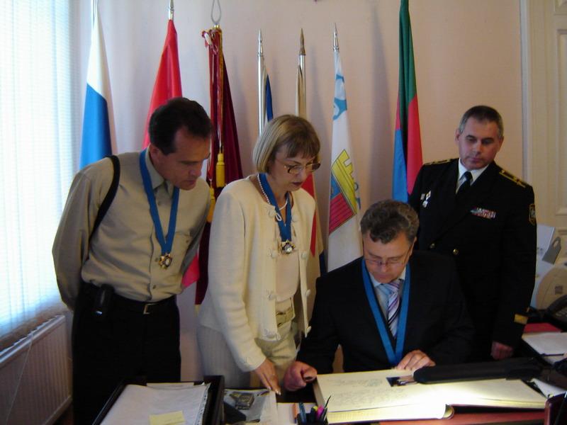 20.07.2006 вручение ордена Кронштадту