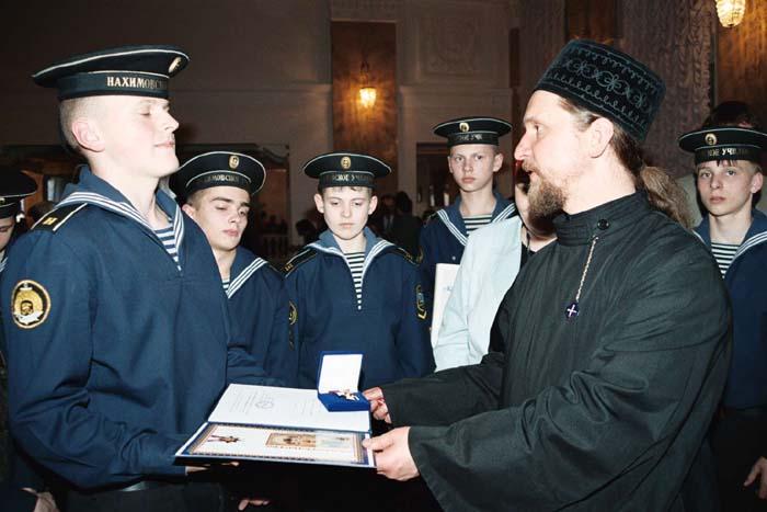 29.04.2006 Наградные документы для митрополита Лавра